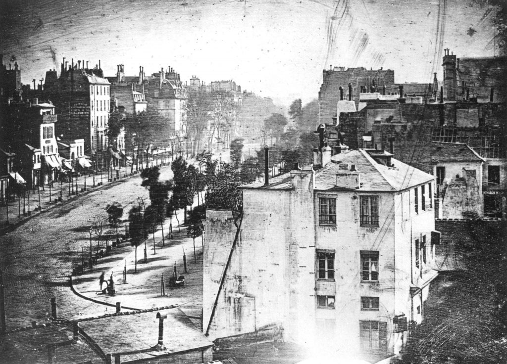 Louis-Jacques-Mandé Daguerre - Boulevard du Temple