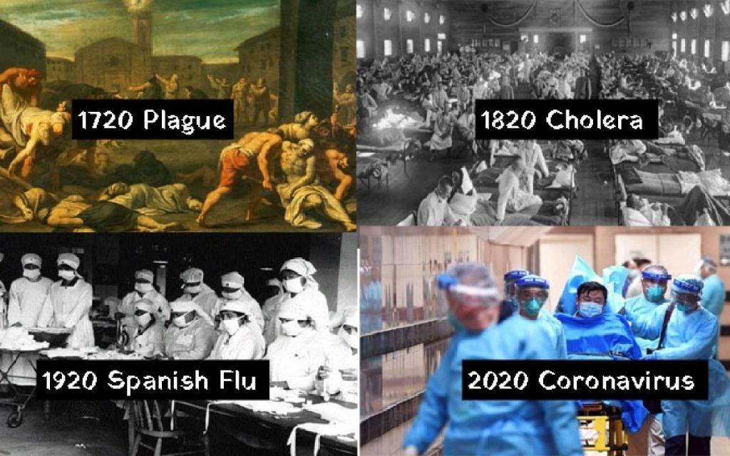 100 évente járvány
